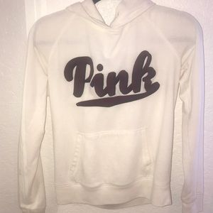 White PINK sweatshirt